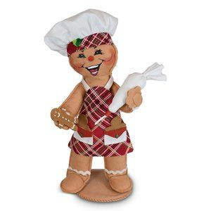 Annalee Retired 11in Sugar & Spice Gingerbread Christmas Chef NWT